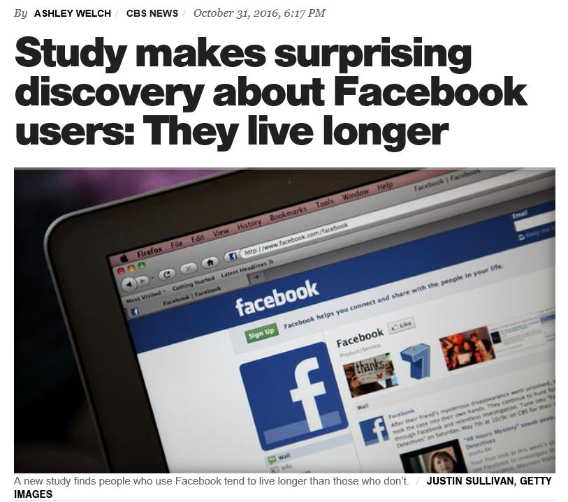 Explaining the Facebook Study: Turns out Cyber Friends Are Important Too