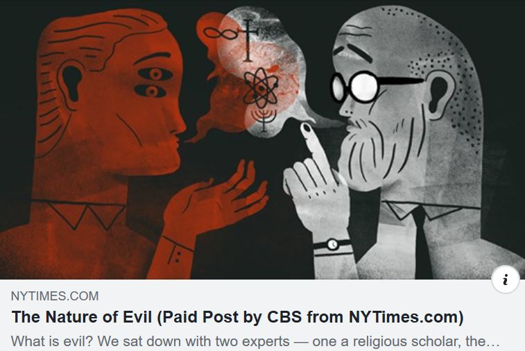 The Absense of Empathy: Psychology's Take on the Origin of Sin and Evil.